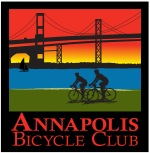 Annapolis Bike Club jersey Red Gradient sky